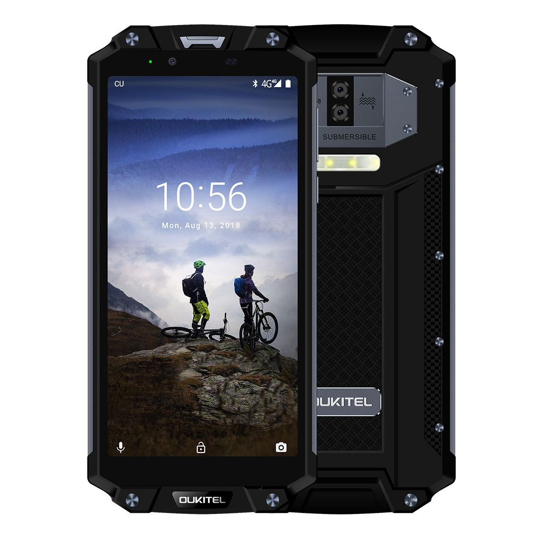 Outlet - Oukitel WP2 vedenkestävä IP68-puhelin