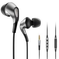 Meizu Flow -nappikuulokkeet tarjoavat hintaluokassaan erinomaisen kuuntolukokemuksen. Kuulokkeiden äänentoistosta vastaa kummallakin puolen kolmoishybridielementit.
