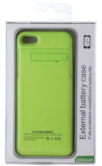 iPhone 5/5S akku-suojakuori 2000mAh