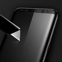 Tämä erittäin laadukas karkaistusta lasista valmistettu näytönsuoja on paras tapa pitää Galaxy S8 puhelimesi näyttö suojattuna naarmuilta. Lasisuojan ylä ja alareuna täsmäävät täydellisesti puhelimesi väreihin ja koko suoja on kaareva.