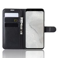 Flip cover -suojakotelo Google Pixel 4 puhelimelle. Suojakotelo on valmistettu keinonahasta ja suojaa puhelinta joka puolelta. Kotelossa on 3 korttipaikkaa.