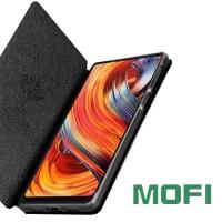 Flipcover-mallinen suojakotelo Xiaomi Mi Mix 2S -älypuhelimelle. Erinomainen suoja Mofilta.