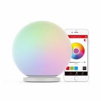 MIPOW Playbulb Sphere smarta skrivbordslampa är en läcker sfärisk lampa som lyser upp hela rummet och laddas trådlöst. Fungerar tillsammans med andra MIPOW-lampor.