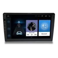 """Näyttävä Bluetooth autosoitin suurella 10"""" kosketusnäytöllä, navigoinnilla ja monipuolisilla liitännöillä. Todella tyylikäs autosoitin. Android 9.1."""