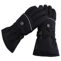 Eluppvärmda värmehandskar perfekt för en kylig vinterdag eller för snöskottningen. Tjocka handskar som kan värms upp till hela 50 grader.
