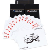 Poker club muoviset pokerikortit