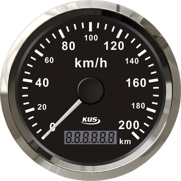 GPS-speedometer til båden - 85mm km/t
