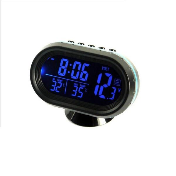 Auton jännitemittari / lämpömittari / kello