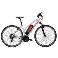 Devronin edullinen naisten sähköpyörä on miellyttävä polkea niin maastossa kuin maantieajossa.
