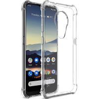 Edullinen mutta hieno läpinäkyvä suojaktelo Nokia 6.2 puhelimelle. Antaa hyvän pidon puhelimesta. Tässä varma valinta Nokia 6.2 suojakuoreksi.