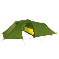 Naturehike Opalus 4-personers telt er et året rundt tunneltelt - og til en fantastisk pris! Let sæt med gode vandpilarer og let vægt!