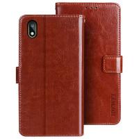 Flip-cover för Honor 8S. Skyddar din telefon mot repor och slitage och har även kortfickor samt sedelficka.