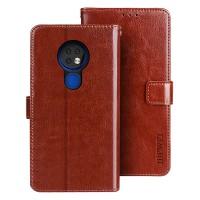 Tämä loistava flip cover mallinen lompakkosuojakuori pitää Nokia 6.2 laitteesi turvassa osumilta monipuolisesti ja tehokkaasti.
