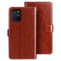 Tämä ensiluokkainen flip cover mallinen lompakkosuojakuori pitää Samsung Galaxy S10 lite laitteesi turvassa osumilta monipuolisesti ja tehokkaasti.