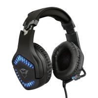 Trust GXT 460 Varzz gaming headset är tillverkade för seriösa gameras. LED-belysning, 50 mm -element och kondensatormikrofon ger en utmärkt användarupplevelse.