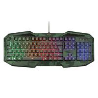 Trust GXT 830-RW-C gamingtangentbord är speciellt tillverkat för spelare. Förutom LED-belysning så erbjuder det en fantastisk känsla och gamingknappar.
