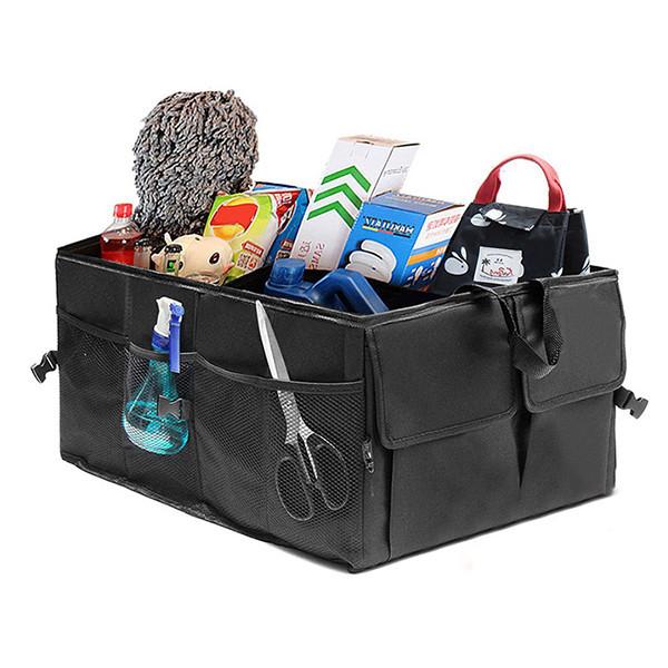 Vikbar förvaringsväska till bagageutrymmet i bilen