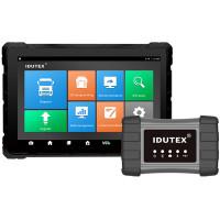 Raskaan kaluston järjestelmätesteri ammattikäyttöön. Idutex TS 910 PRO diagnosoi, testaa ja ohjelmoi kuorma-autot, bussit, traktorit, ja muut työkoneet.