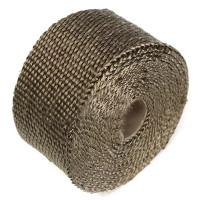 Pakoputken eristenauha vähentää lämpösäteilyä ja parantaa siten pakokaasun virtausnopeutta. Tyylikä titaanin värinen ulkoasu. Lämmönkesto 900°C - 1200°C.