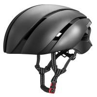 Virtaviivainen pyöräilykypärä mukavalla sisustalla ja hengittävillä materiaaleilla. RockBros LK-1 pyöräilykypärä sopii mainiosti myös nopeampaan pyöräilyyn.