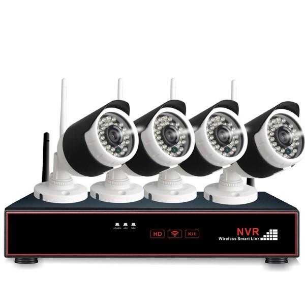 Outlet - 4 x Langaton FullHD kamera ja verkkotallennin
