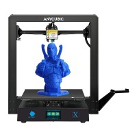 Anycubic Mega X 3D-tulostin tulostaa tavallisten materiaalien lisäksi myös taipuisaa TPU-muovia. Suuri 300x300x305mm tulostusalue ja paranneltu tekniikka.