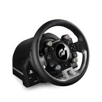 Thrustmaster T-GT rattiohjain ja polkimet on paras paketti jokaiselle kilpakuskille. Virallinen PS4 rattiohjain on suunniteltu e-urheilua varten.
