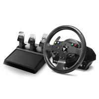 Ensiluokkaiset Thrustmaster TMX Pro rattiohjain ja polkimet ovat se realistisin valinta simulaattorilla ajaville! Virallinen simulaattoritarvike Windowsille ja Xbox Onelle.