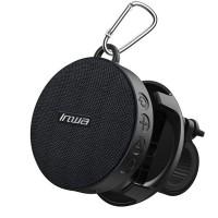 Inwa IPX7 pyörän Bluetooth-kaiuttimella voit kuunnella lempimusiikkiasi missä vain. Kaiuttimen voi kätevästi kiinnittää pyörän tankoon ja se on vettä hylkivä.