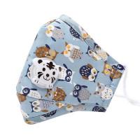 Den justerbare ansigtsmaske med mønster til børn i en todelt pakke er en ren fornøjelse at bære.