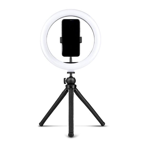 """Kolmijalkainen selfie-valo / rengasvalo 10"""""""