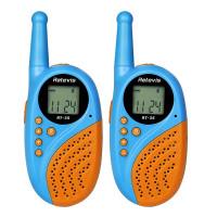 Retevis RT35 on erinomainen lupavapaa PMR-radiopuhelin, joka omaa 3 kilometrin kantaman. Puhelin sopii lapsille tai vaikkapa vaativampaankin käyttöön.
