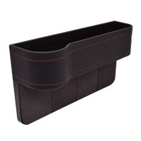 Seat gap storage box
