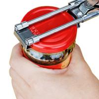 Tämän avaajan kanssa et joudu tuskailemaan tiukassa olevien purnukoiden kansien tai pullon korkkien kanssa.
