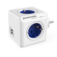 Powercube on kätevä kuutiopistorasia, jossa yhdistyvät pistorasia ja USB-latausominaisuus. Tällainen adapteri kääntää varmasti vieraiden päät!