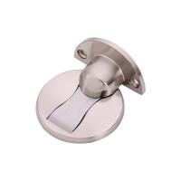 Tyylikäs metallinen ovistoppari magneetilla. Pitää oven auki magneetin avulla. Voit kiinnittää joko lattiaan tai oveen.