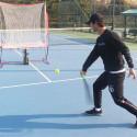 Bollkanon för tennisbollar