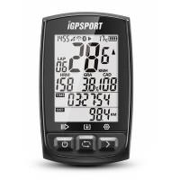 iGPSPORT IGS50E polkupyörän mittari GPS-paikannuksella antaa tarkkaa dataa pyörälenkeistäsi! Saatavilla lisäantureita parempaan datan mittaukseen.