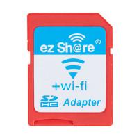 Dela dina fotografier eller musikfiler direkt mellan olika enheter via ett trådlöst nätverk. Med Ezshare-WiFi MicroSD-adapter kan du skapa ett trådlöst nätverk och direkt dela filerna som finns på MicroSD-kortet du har i adaptern.