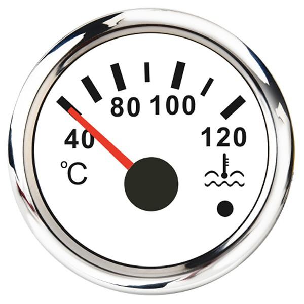 Jäähdytysnesteen lämpötilan mittari