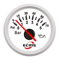 Öljynpainemittarin avulla tiedät autosi tai muun koneen öljynpaineen tarkalleen ajon aikana. Mahtava lisävaruste tuunaukseen ja rakenteluun!