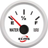 Veneen vesitankin mittari kertoo, miten täynnä vesisäiliö on. Tämän mittarin ansiosta saat arvokasta tietoa vesitankkisi tilanteesta.
