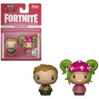 Hienot Fortnite Ranger & Zoey figuurit kuuluvat Funko Pint Size Heroes sarjaan ja ovat aitoja Fortnite fanituotteita. Hahmot ovat noin 3,8cm korkeita.