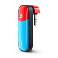 Ugreen Bluetooth-vastaanottimen langattomat kuulokkeesi konsoliisi. Bluetooth 5.0 takaa häiriöttömän yhteyden. Helppo ja nopea kytkeä AUX-liitäntään.