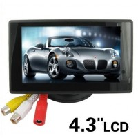 4.3'' Color TFT Car Monitor  for car rear-view
