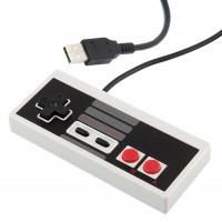 Nintendo 8-bittisen ohjain tietokoneen USB-porttiin. Onko PC:llasi vanhan koulun emulaattoreita, johon tarvitset asiallisen ohjaimen?Tämä ohjain ei paljoa esittelyjä kaipaa, sillä se on varmasti kaikille pelaaville ja yli 15-vuotiaille tuttu.