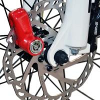 Todella pieni ja kätevä lukko moottoripyörän & polkupyörän levyjarruun. Haluatko säilyttää pyöräsi? Suomessa varastetaan vuosittain yli 20000kpl polkupyöriä. Kannattaa siis olla varustautunut hyvällä lukolla.