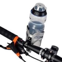 Polkupyörän juomapullotelineet ovat yleensä kiinnitetty pyörän runkoon jalkojesi väliin, josta pitäisi yrittää vaikeasti kurkoittaa pulloa. Asian voi tehdä helpomminkin, kiinnittämällä juomapulloteline suoraan eteesi pyörän tankoon.