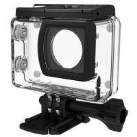 SJCAM SJ9 action-kamerat on vesitiivis ilman koteloa 10:een metriin, mutta jos haluat viedä kameran syvemmälle, on sinun hommattava tämä vesitiivis kotelo.