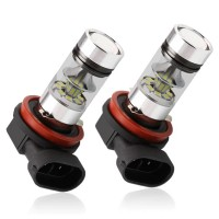 LED-polttimot auton sumuvaloihin. LED-polttimo on huomattavasti perinteistä halogeenia pitkäikäisempi ja usein myös kirkkaampi valinta. Nämä polttimot tuottavat kirkkaan valkoisen valon.